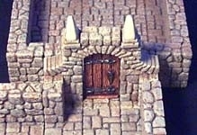 TAB097 - Fieldstone Dungeon Door