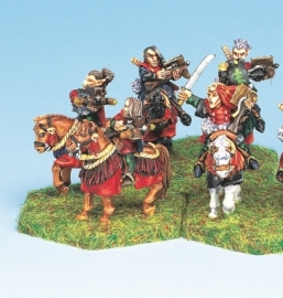 BHD-009 - Dark Elf Mounted Crossbow Archers (5)