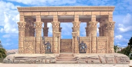 TAB163 - Egyptian Temple 01