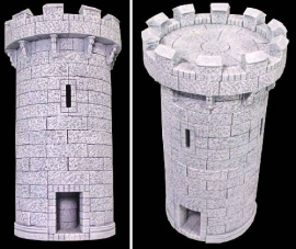 TAB133 - Gothic Circular Tower