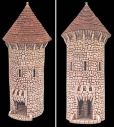 TAB190 - Fieldstone Conical Circular Tower