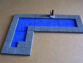 TAB472 - Medieval Gothic 4x4 floorplate Set