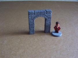 TAB467 - Medieval Gothic Doorpost  02