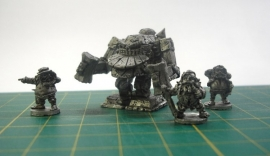 BHW-003 - Dwarven Warmachine with crew