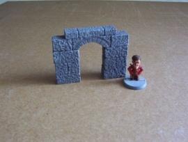 TAB466 - Medieval Gothic Doorpost  01