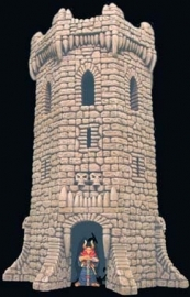 TAB134 - Fieldstone Octagon Tower