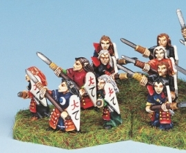 BHD-005 - Dark Elf Spearmen (10)