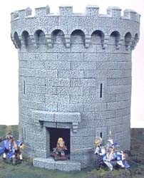 TAB140 - Gothic Large Circular Tower