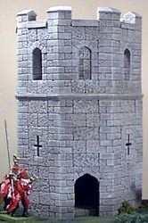TAB141 - Gothic Octagon Tower
