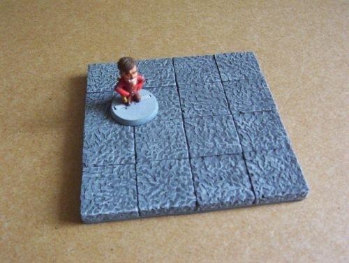 TAB461 - Medieval Gothic 4x4 floorplate 01