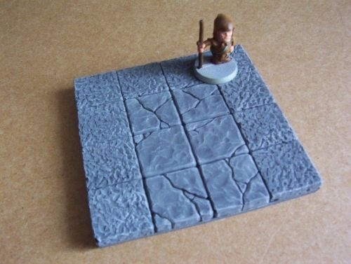 TAB483 - Medieval Gothic 4x4 floorplate 16