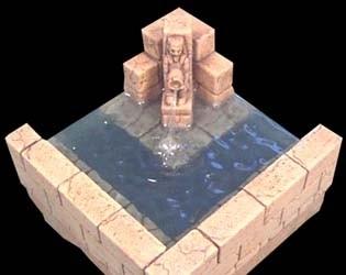 TAB037 - Egyptian Fountain Corner