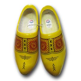 Traditionele klomp geel