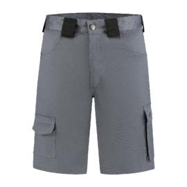 Bermuda katoen/polyester grijs