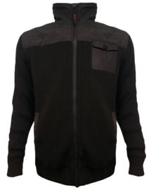 Storvik Gebreide Teddy Vest Loki 2039 zwart