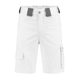 Bermuda katoen/polyester wit