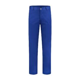 Werkbroek polyester/katoen koraalblauw