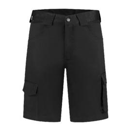 Bermuda katoen/polyester zwart