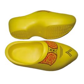 EVA Klompen PU geel