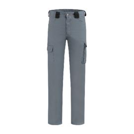Werkbroek ripstop Polyester/katoen grijs