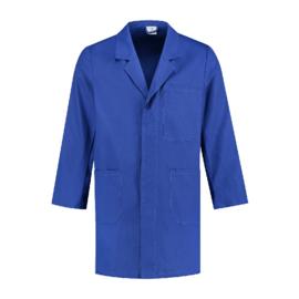 Stofjas 100% katoen korenblauw