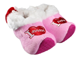 Baby klomppantoffel roze