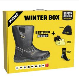 Winterbox SAFETY JOGGER Veiligheidslaars Bestboot S3 zwart