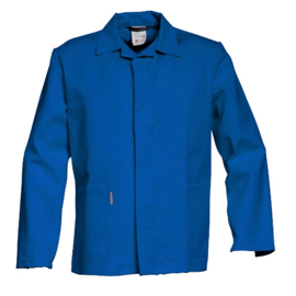 Havep Korte jas / korenblauw katoen