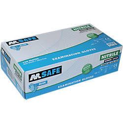 M-safe nitrile food PF AQL 1,5 handschoenen