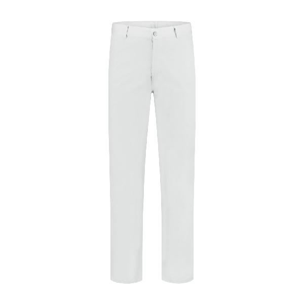 Werkbroek polyester/katoen wit