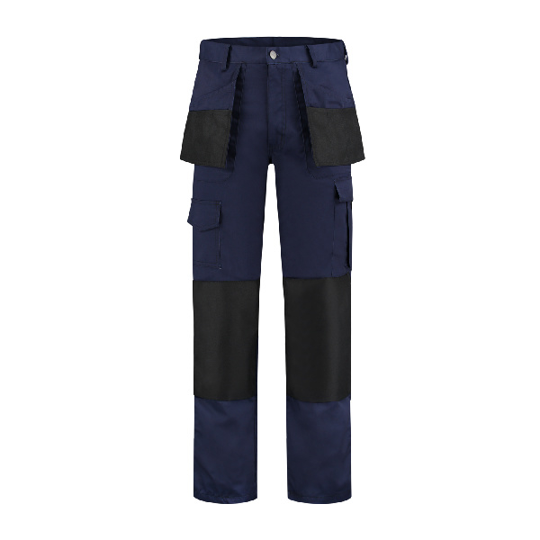 Werkbroek polyester/katoen Oxford navy