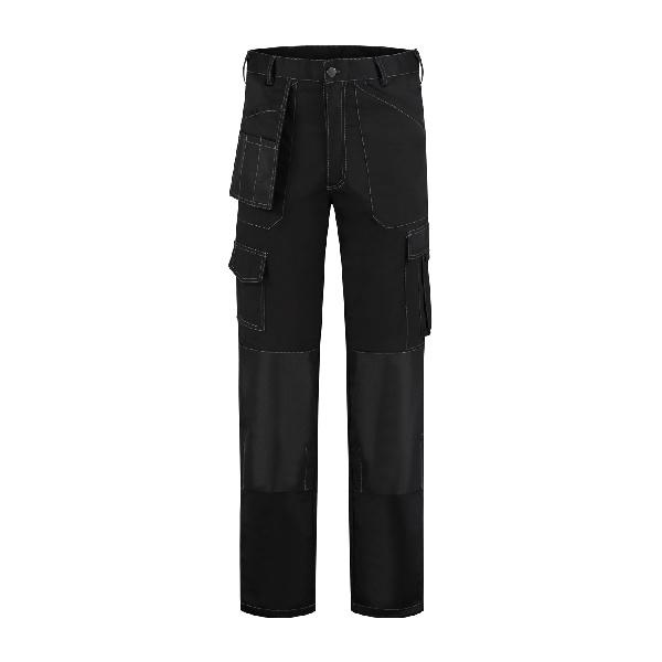 Werkbroek polyester/katoen Oxford zwart