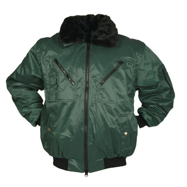 M-wear pilot jacket groen
