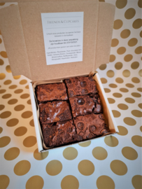 Brownies 6 stuks, 1 smaak.