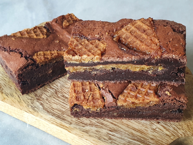 Stroopwafel Brownie