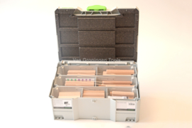 Festool DOMINO XL assortimentsystainer DS/XL D12/D14 128x BU 498205
