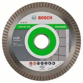Bosch Diamantdoorslijpschijf Best for Ceramic 2608602479