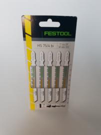 Festool Decoupeerzaagblad HS 75/4 BI/5 486553