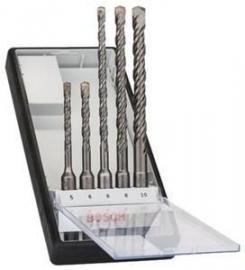 Bosch 5-delig Robust Line hamerborenset  SDS-plus 2607019927
