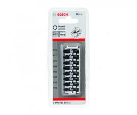 Bosch 2608522323 Impact 8 Delige bitset - PH1 / PH2 / PH3 / PZ2 / PZ3