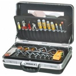 Parat Classic gereedschapskoffer, platte uitvoering 484.000-171