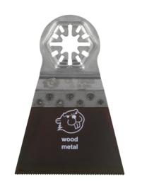 Coram QuickFit zaagblad 65x51mm Bi-metaal 3 stuks QUB065003
