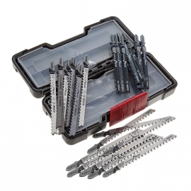Bosch 30-delige set decoupeerzaagbladen precision for Wood 2607010905