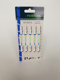 Festool HS 60/2 BI/5 Decoupeerzaagblad Metaal  Aluminium  486557