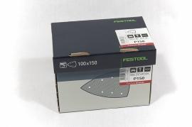 Festool Schuurbladen STF DELTA/7 P150 GR/100 497139