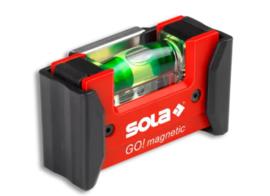 Sola GO!magneticCLIP Compact waterpas 7.5cm 01621201