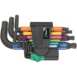 WERA 950/9 HEX-PLUS MULTICOLOUR STIFTSLEUTELSET  05133164001