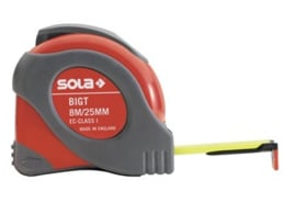 Sola Big T 8 m Rolmaat  8m x 25mm 50021401