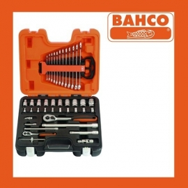 Bahco doppenset 1/4 inch en 1/2 inch S410