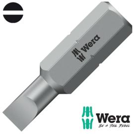 Wera 800/1 Z Sleufschroeven Bits, 0.6 x 4.5 x 25 mm 05072055001